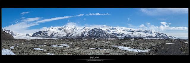 Kartki z podróży - Lodowce w Skaftafell