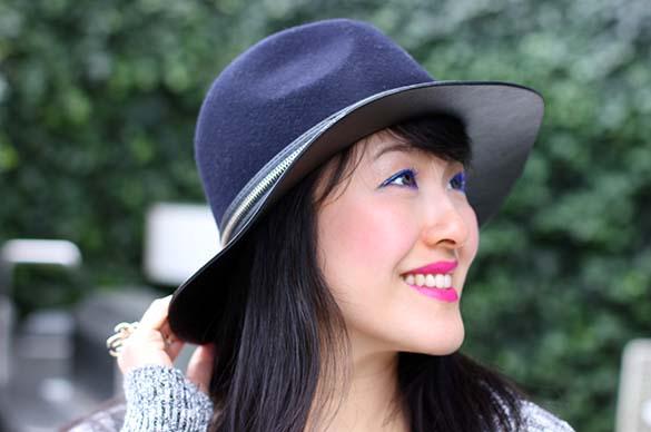 Zara Combine Wool Hat
