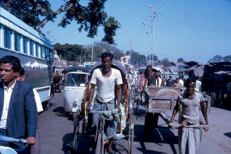 Street Scenes of Dhaka, Bangladesh (Then East Pakistan) - 1960's