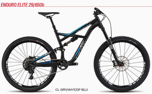 2015 Enduro Elite 29/650b