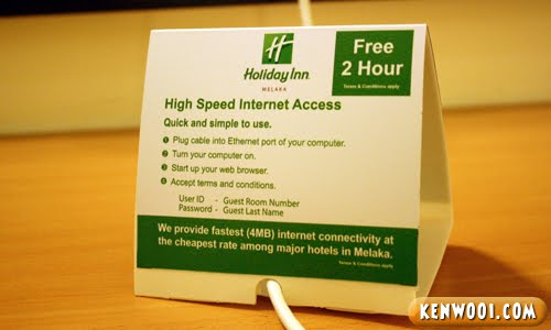 hotel internet