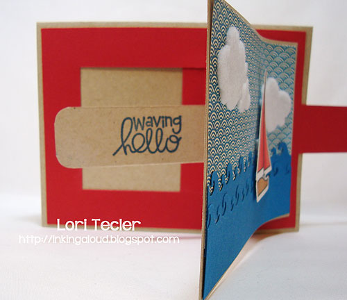 Waving Hello-designed by Lori Tecler-Inking Aloud-stamps and dies from Paper Smooches
