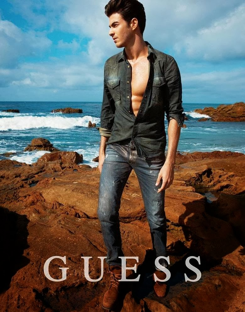 Guess Men's Jeans Spring/Summer 2014 Campaign starring Gui ...