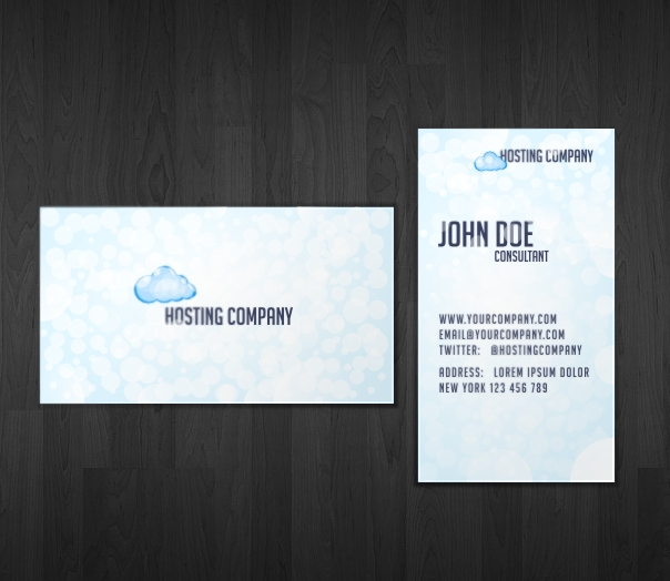 Hosting Business Card