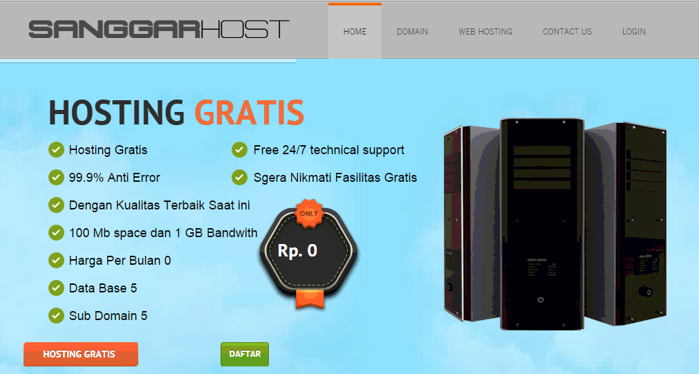 Web Hosting Indonesia Usd