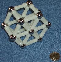 Hexagonal Magnetix structure.