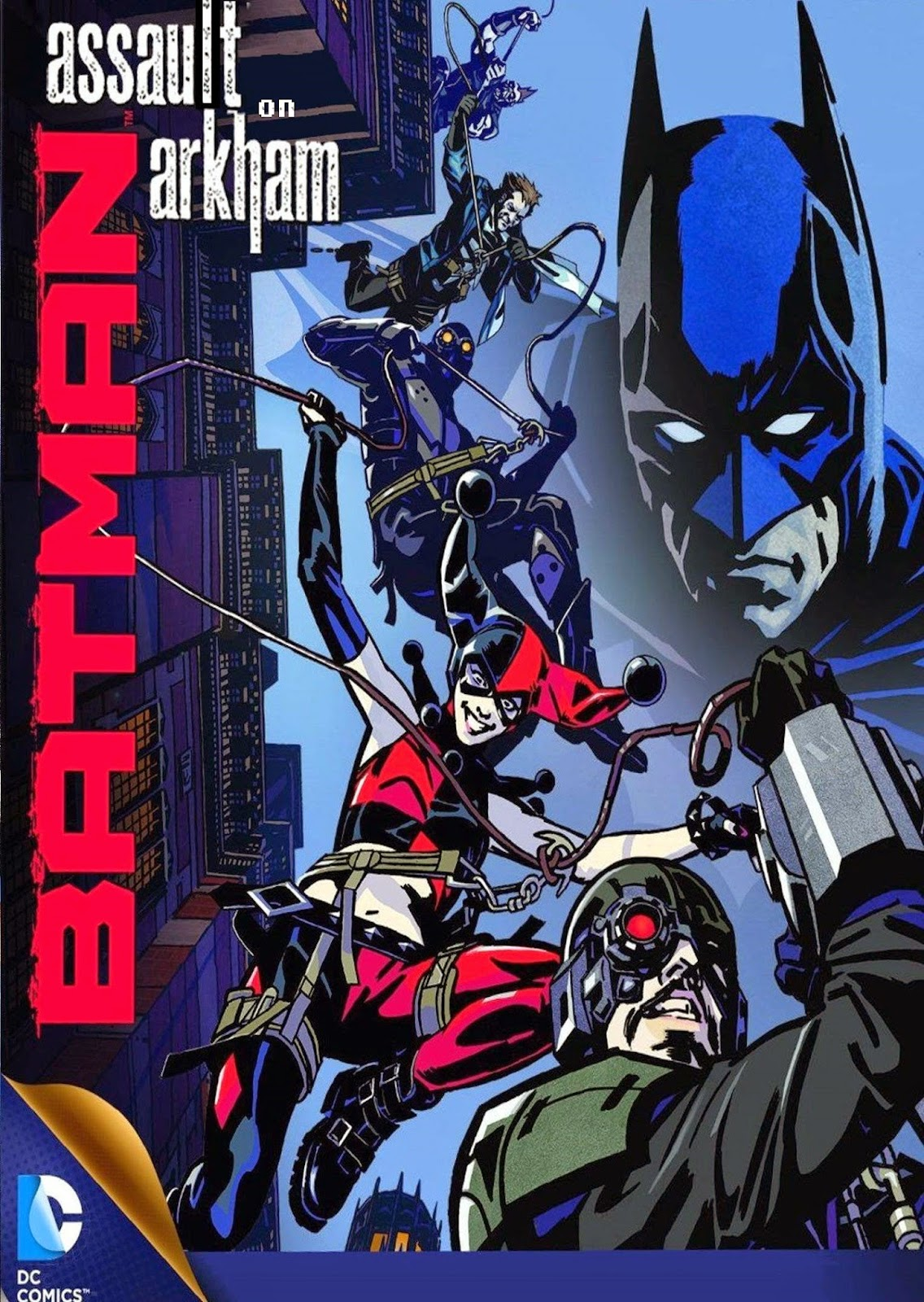 Dc comics animated movies