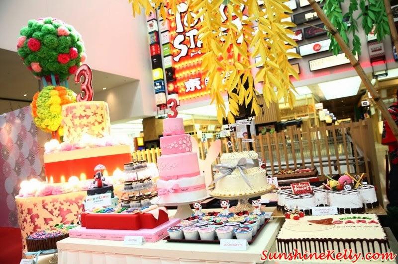 Tokyo Street 3rd Anniversary Sweetest Celebration, tokyo street, japan, pavilion kl, kuala lumpur, sweetest celebration, japan culture, Kocyou No Mai, Yosakoi Bushi, Kagami Biraki, birthday cakes