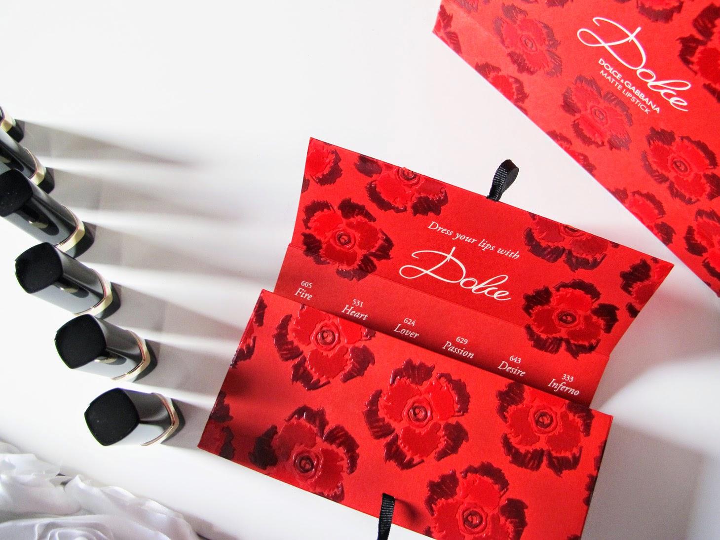 Dolce&Gabbana Make Up Dolce Lipstick Matte