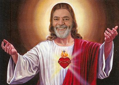 ELE SE ACHA...DEU A ELZA NO CRUSCIFIXO PARA SER PENDURADO NELE