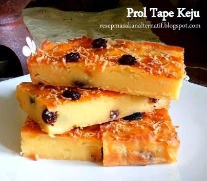 Resep Prol Tape Keju Panggang