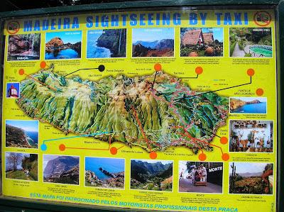 Mapa de Madeira, Portugal, La vuelta al mundo de Asun y Ricardo, round the world, mundoporlibre.com