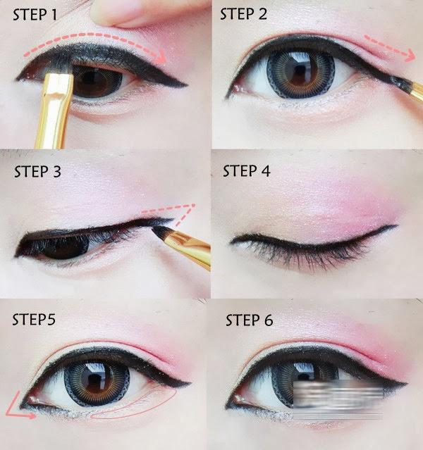 makeup mata ala gadis-gadis korea