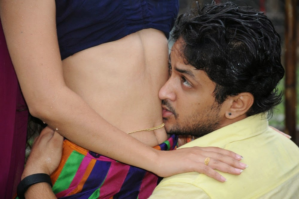 navel kissing