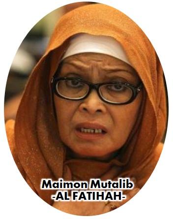 Allahyarhamah Maimon Mutalib