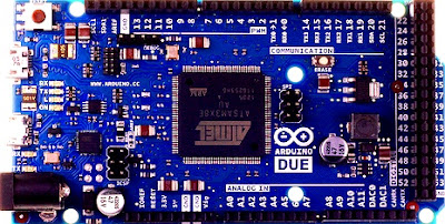 Arduino DUE Front ( ARM Based Arduino)