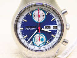 CITIZEN CHRONOGRAPH SUNBURST BLUE DIAL - AUTOMATIC