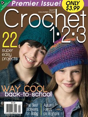 Just Crochet Magazine : Positively Crochet!: NEW Crochet Magazine! Crochet 1-2-3 at Walmart ...