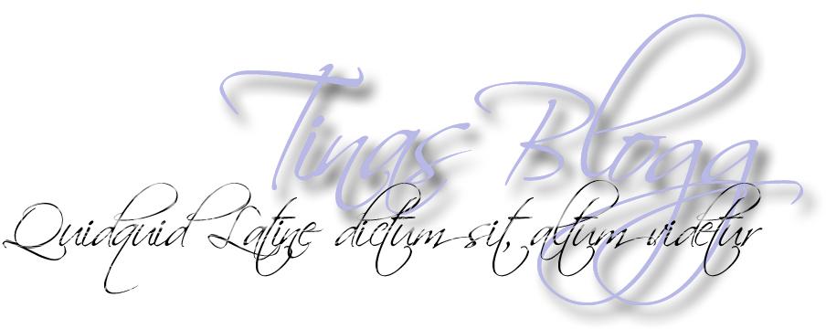 Tinas Blogg