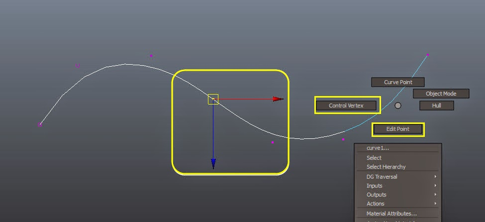 Modifying Curve Components in Maya 11