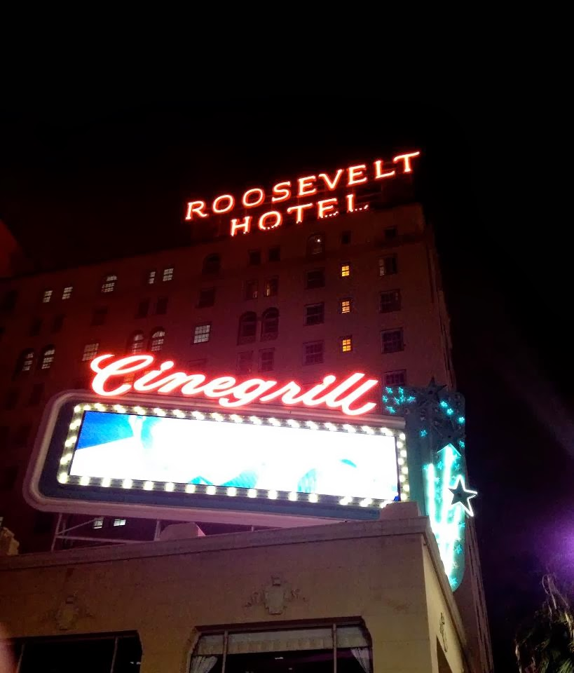 Haunted los angeles the roosevelt hotel hollywood ca for Hollywood beach resort haunted