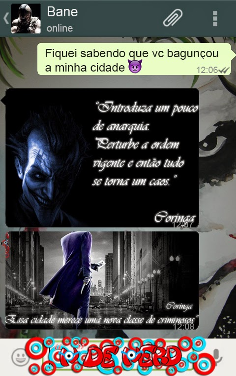 Whatsapp Do Coringa
