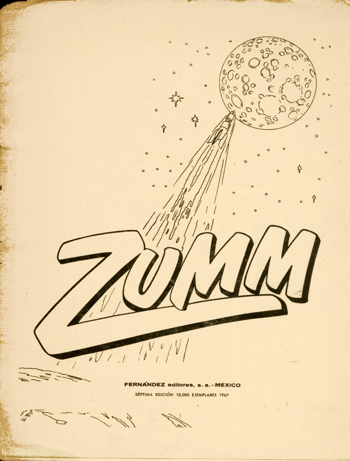 dreams of space books and ephemera zumm 1967 spanish coloring