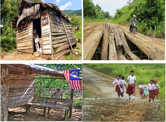 Minimnya perhatian daerah pinggiran membuat puluhan desa di kaltim bakal bergabung dengan malaysia