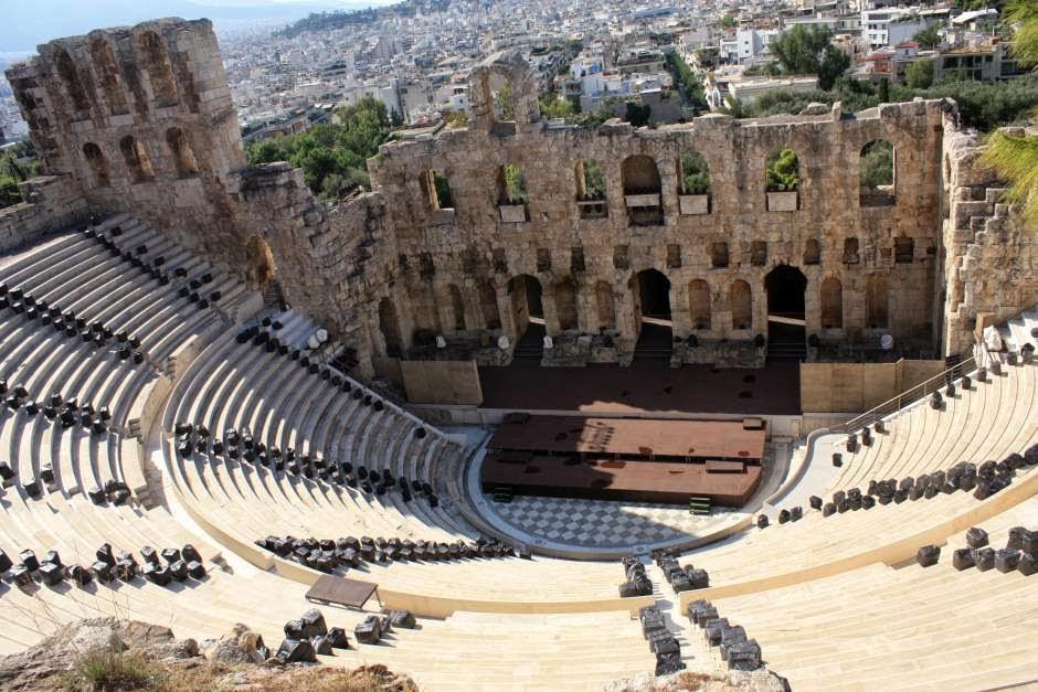 Theatre of Herodes Atticus in Athens