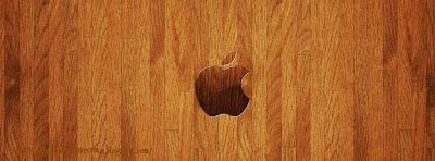 Couverture facebook ipad sur bois