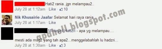 Gambar Raya Felixia Yeap Cetus Pergaduhan Peminat di Facebook (5 Gambar)