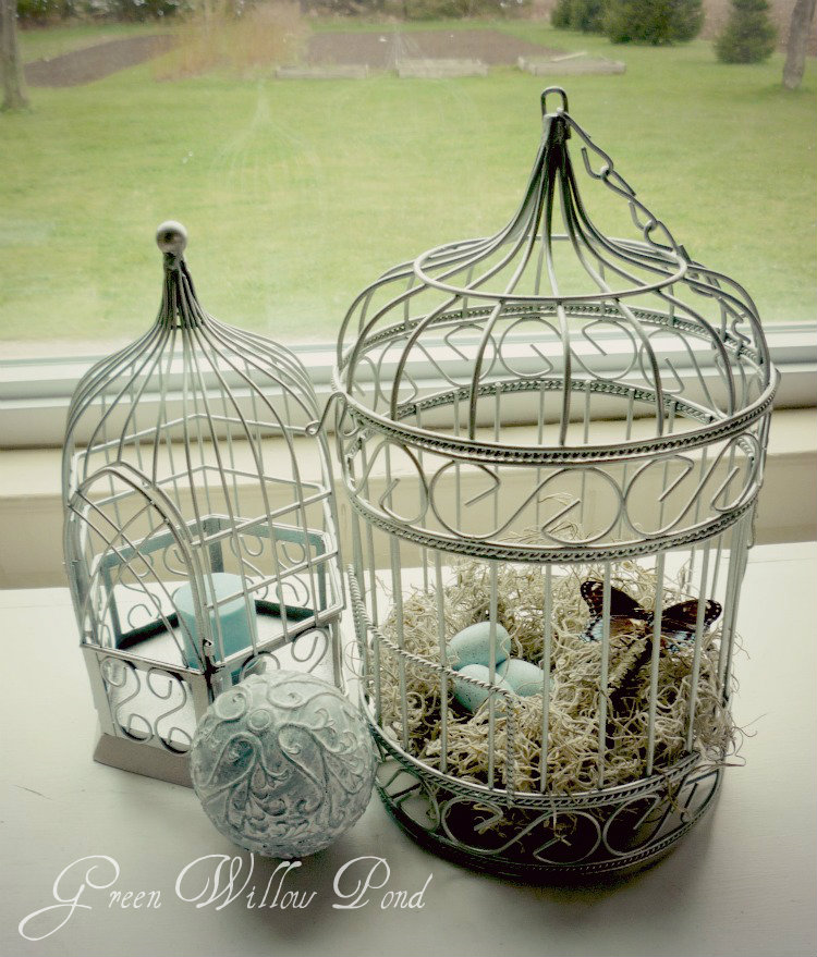 Green Willow Pond Spring Bird Cages