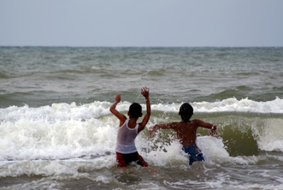 Objek wisata pantai ngebum kendal