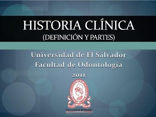 Recursos academicos foues historia clinica definici n y for Definicion de contemporanea