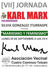 """200 Aniversario de Karl Marx: """"Marxismo y feminismo"""", Silvia Gonzáles Iturraspe"""