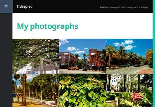 Sidespied Free Photography WordPress Theme