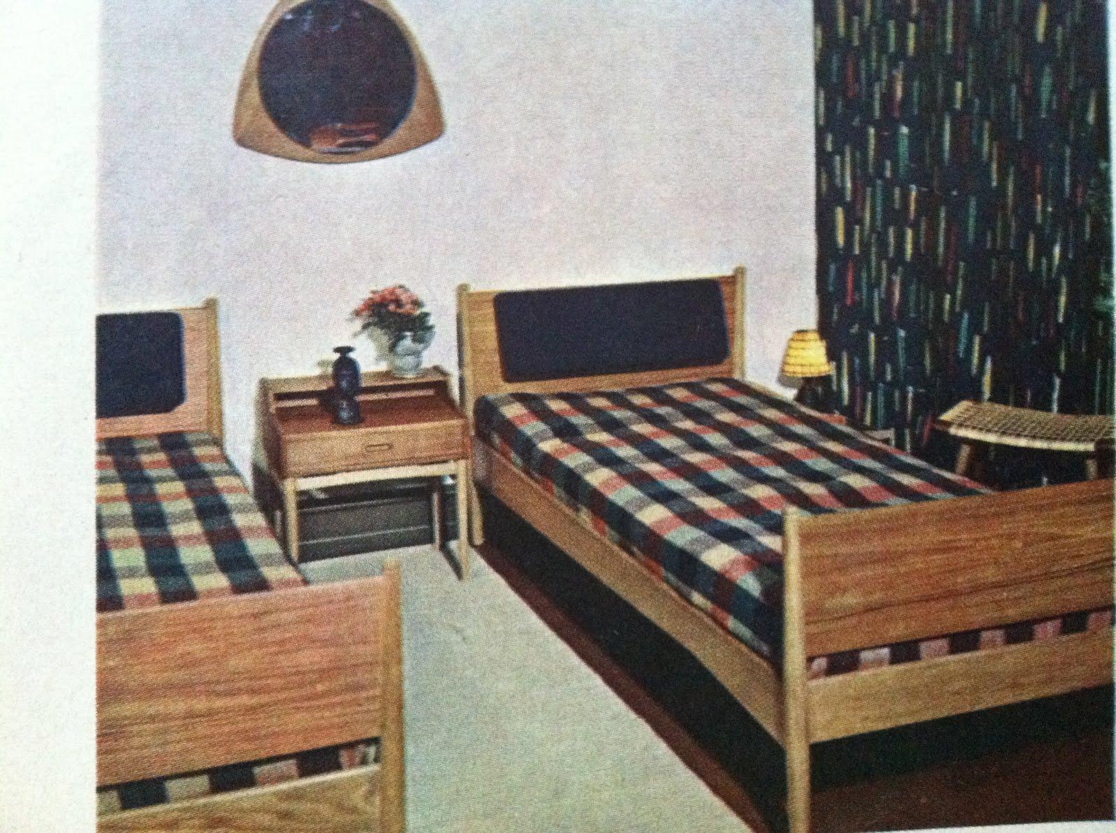 Dengang i 50erne: tidens indretning og friske tekstiler