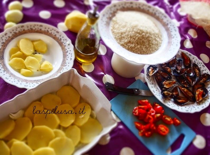 Ricetta tipica pugliese riso patate e cozze