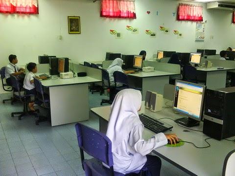 Makmal komputer sekolah