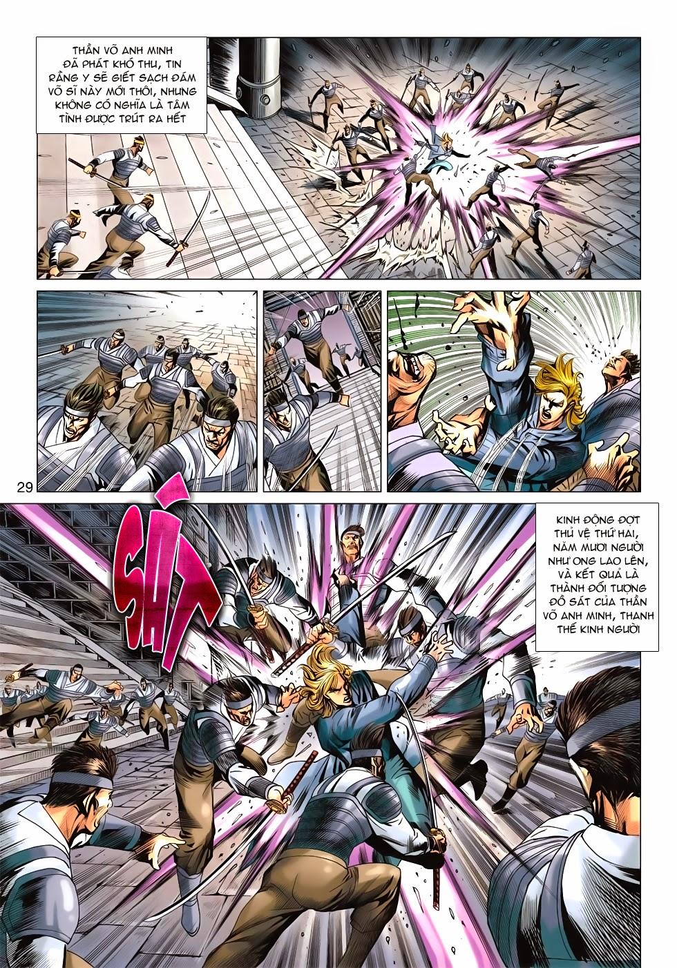 Tân Tác Long Hổ Môn chap 675 - Trang 28
