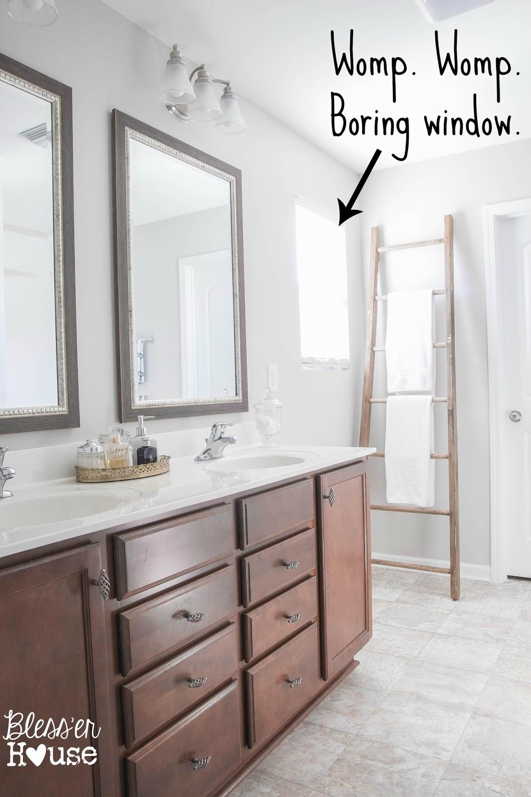 Master Bathroom Progress Window Shopping Blesser House - Master bathroom windows