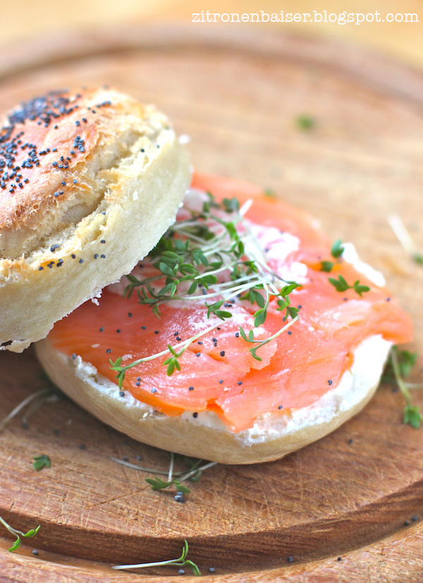 Zitronenbaiser Foodblog Bagel Grundrezept