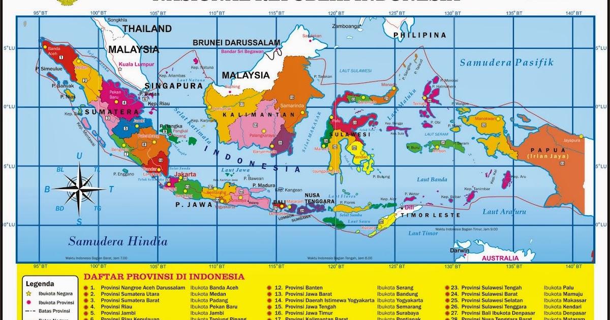 Ringkasan Materi Peta Lingkungan Setempat Sd Kelas 5 Mapel