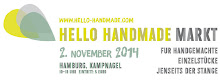 2. November 2014 // marga.marina beim hello handmade Markt in HH