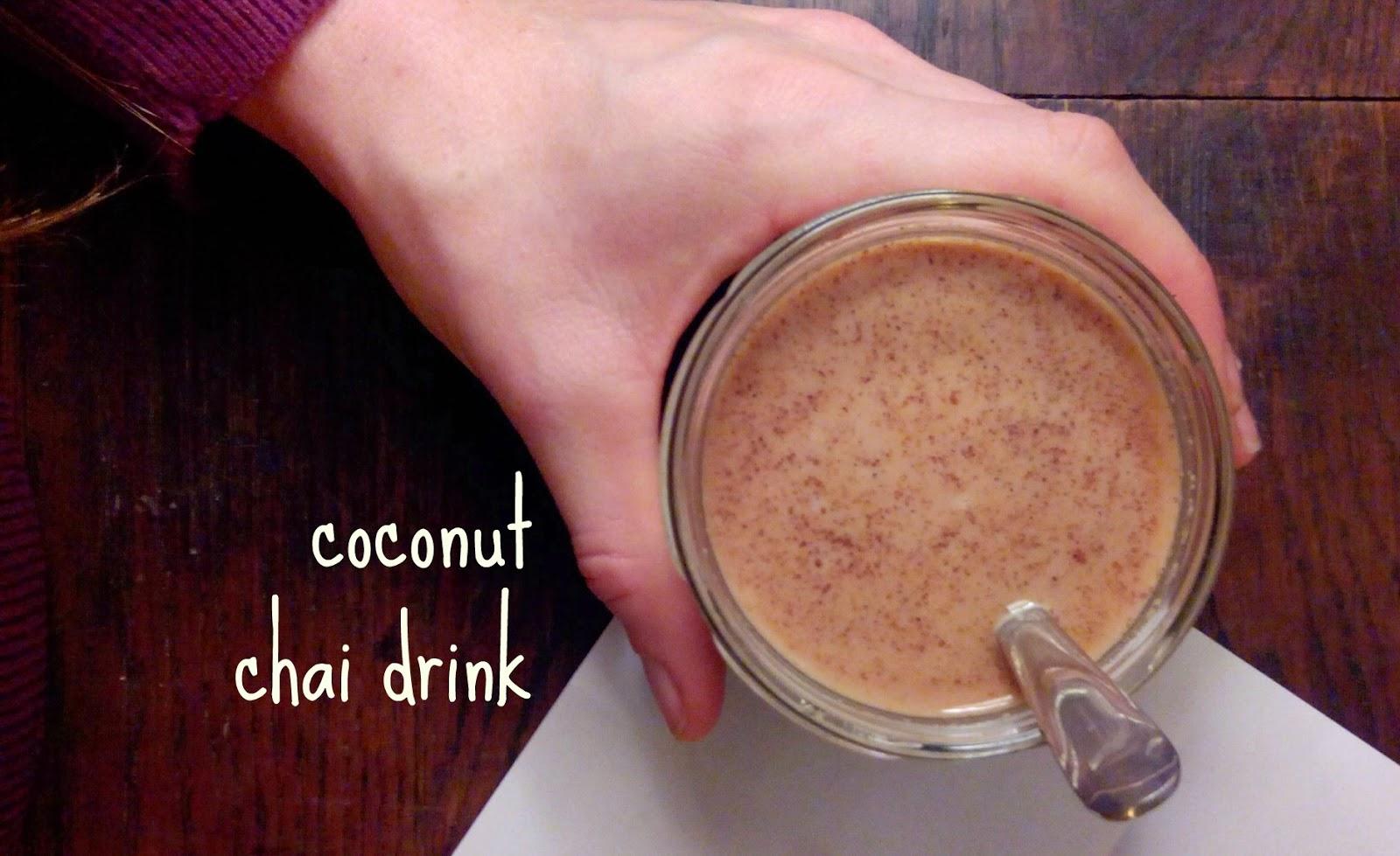 Paleo Coconut Chai Drink