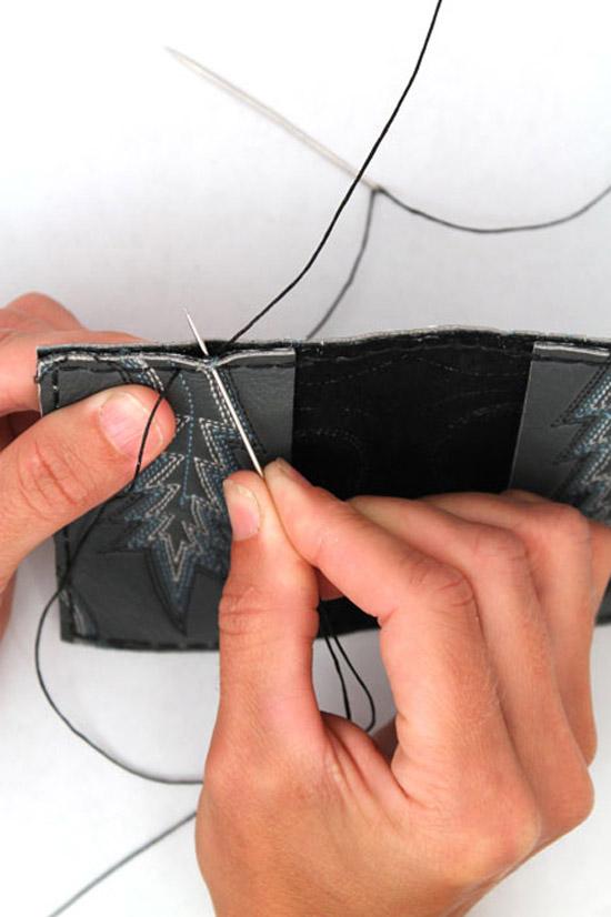 Best of DIYs | Make a Wallet from a Cowboy Boot!