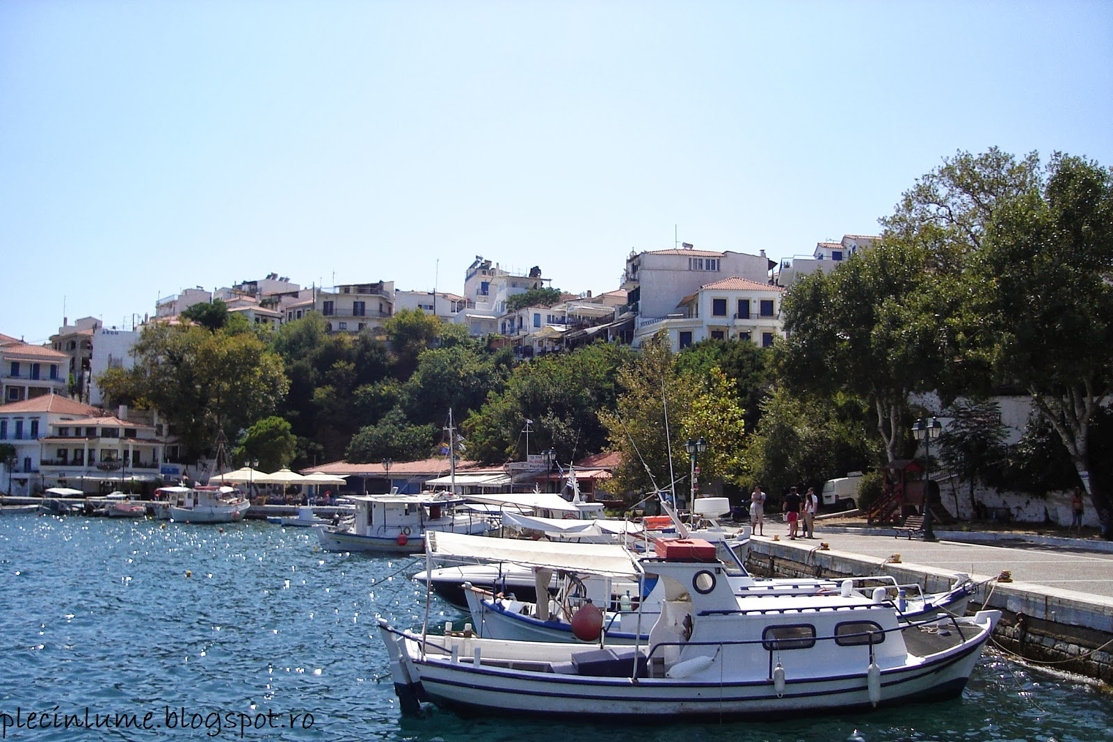Portul din Skiathos