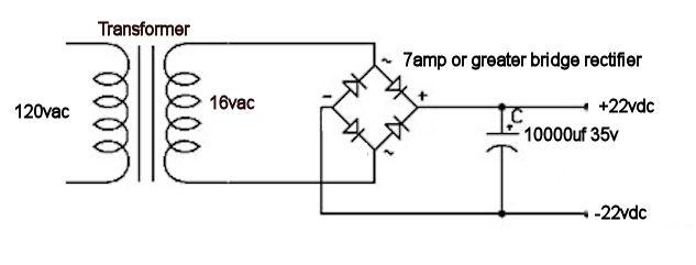 robert u0026 39 s tech blog   building an 18 volt power supply for