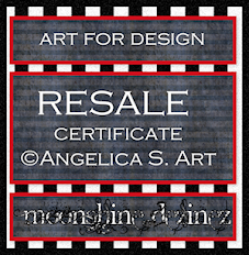 Re-Seller License For Angelica S Art