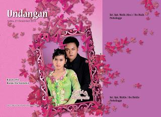 undangan pernikahan ungu undangan pernikahan ungu belakang